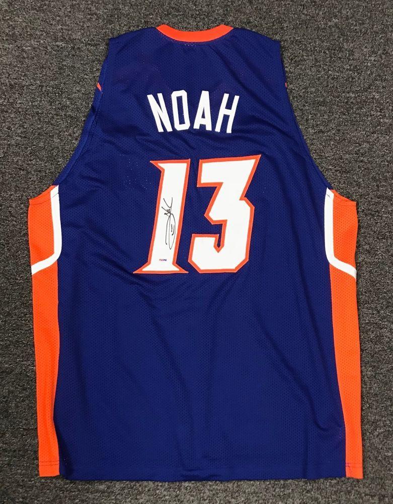 Joakim Noah  13 Signed Florida Gators Jersey Autographed AUTO Sz XL PSA DNA  COA 221bfa1e6