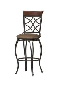 Curves Back 30 in. Bar Stool