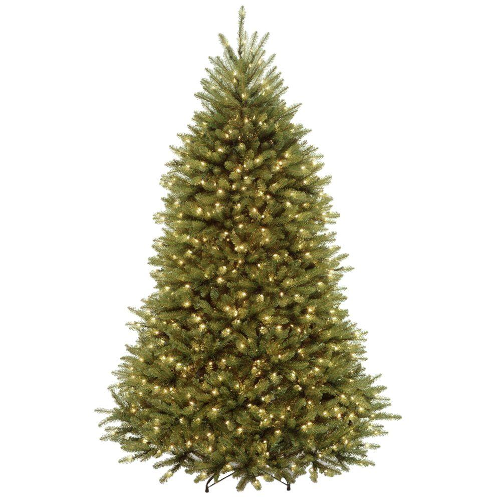 6 5 Ft Dunhill Fir Artificial Christmas Tree With 650 Clear Lights Duh3 65lo The Home Depo Fir Christmas Tree Artificial Christmas Tree Cool Christmas Trees
