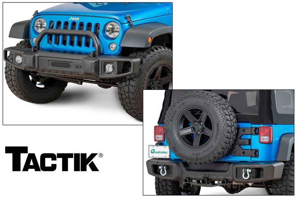 TACTIK Front & Rear Bumpers! Jeep wrangler jk, Jeep