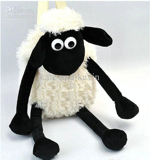 6ba983abe6 Wholesale Shaun The Sheep Backpack New 18cute bags and retail EMS