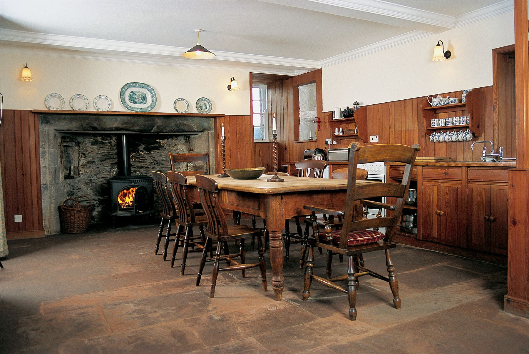The Old Place of Monreith, #Scotland, with it\u0027s cosy kitchen ...