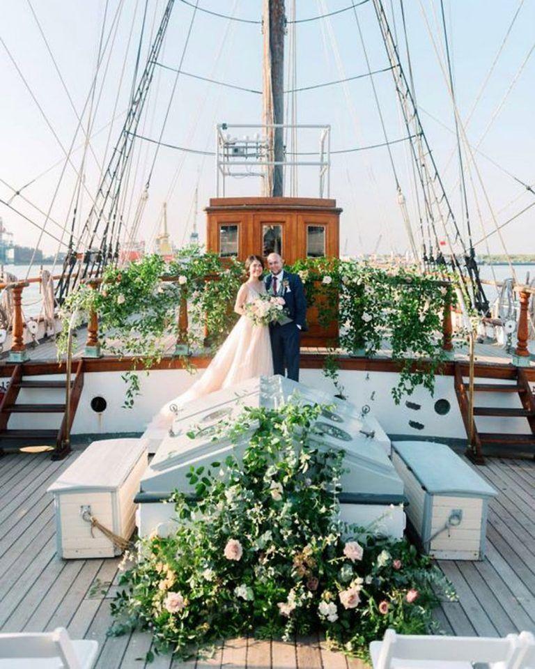 Inspiring Micro Wedding Venues Ideas For 2020 2021 Yacht Wedding Decor Sailboat Wedding Boat Wedding