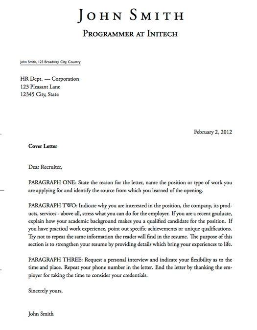 Cover Letter Basics Jvwithmenow News To Go 2 Pinterest Image - Latent-fingerprint-examiner-cover-letter