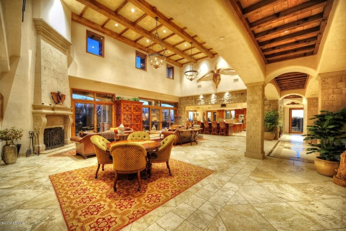 #Luxury #Arizona #Property #LivingRoom #Scottsdale # ...
