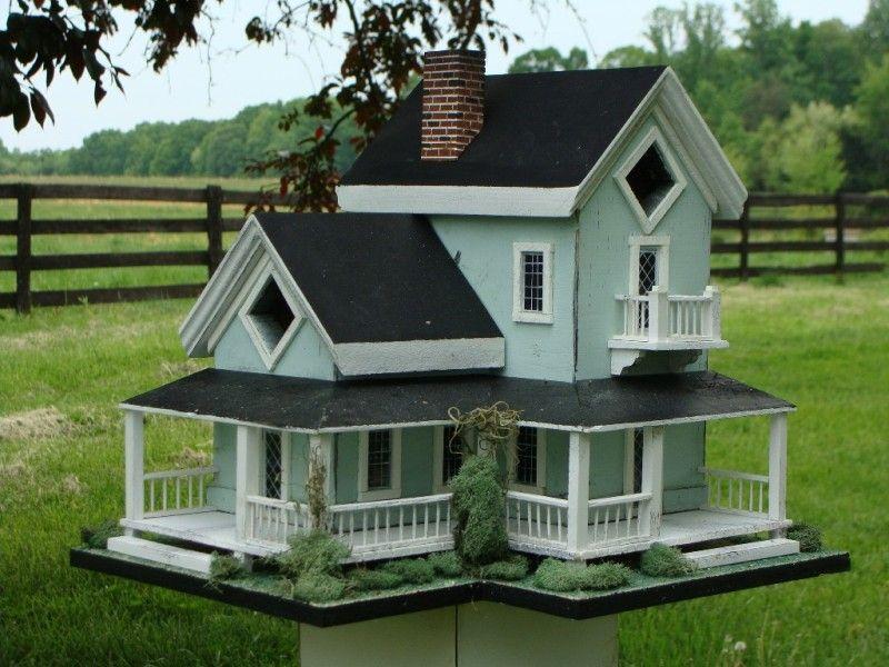 Birdhouse Designs Part - 28: Victorian Birdhouses