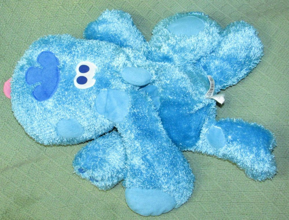 blues clues green puppy plush. Blues Clues 18\ Green Puppy Plush