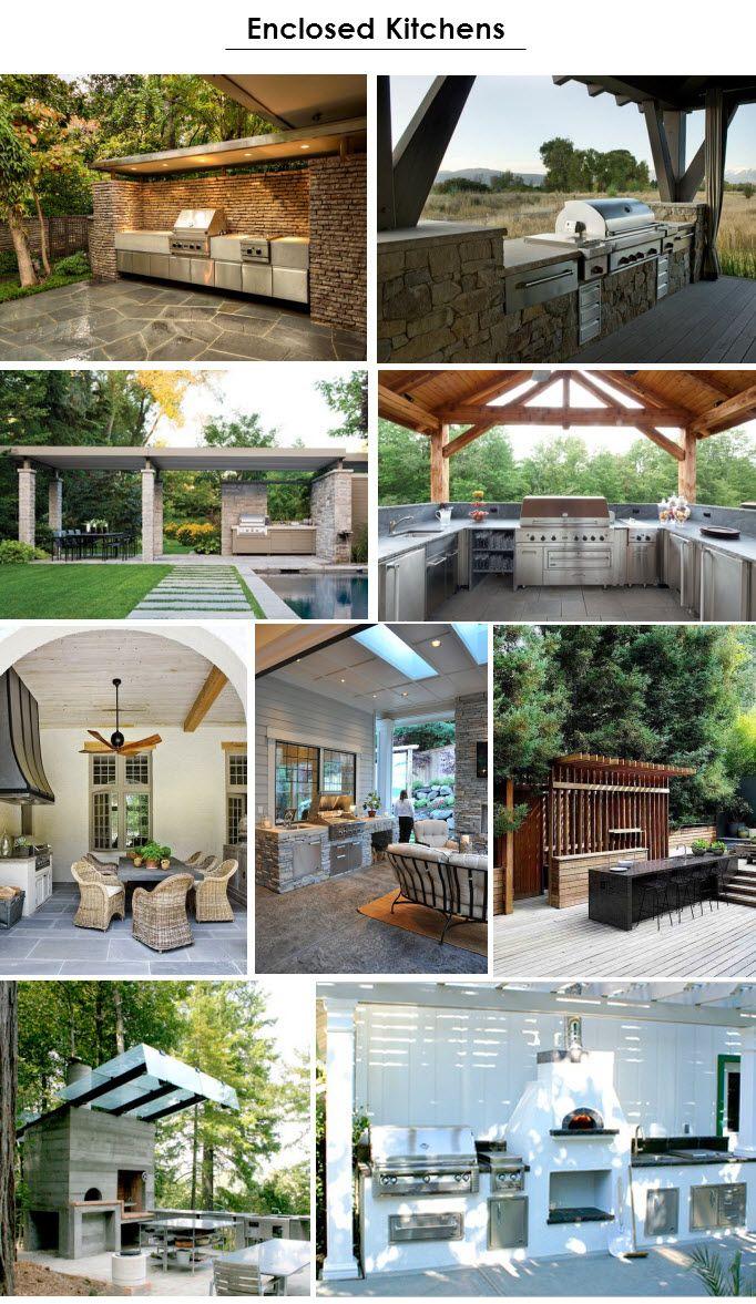 outdoor kitchen ideas | House projects | Pinterest | Sommerküche ...