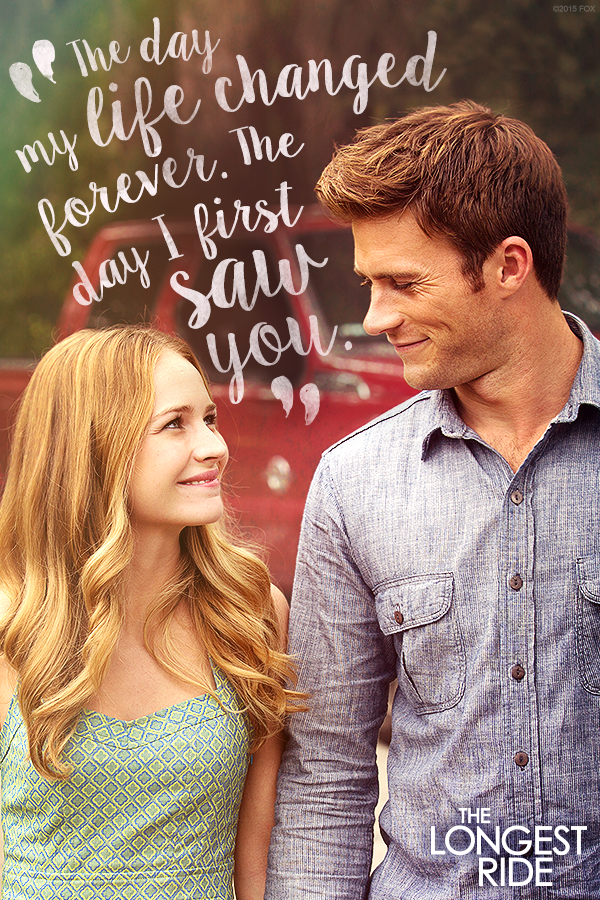 The Longest Ride On Digital Hd Instant Viewing Hd Picture Quality Cloud Storage The Longest Ride Favorite Movie Quotes Nicholas Sparks Quotes