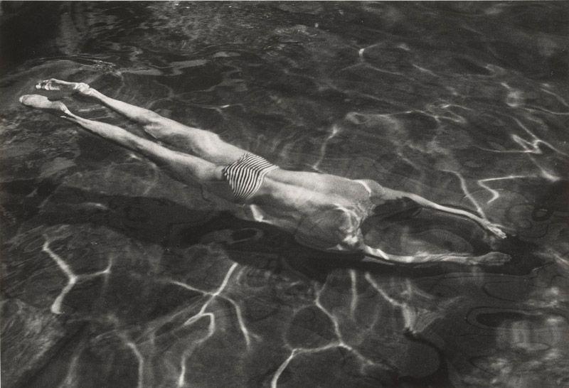 [Underwater Swimmer], negative 1917; print 1970s - André Kertész (American, born Hungary, 1894 - 1985) © Estate of André Kertész / The J. Paul Getty Museum, Los Angeles