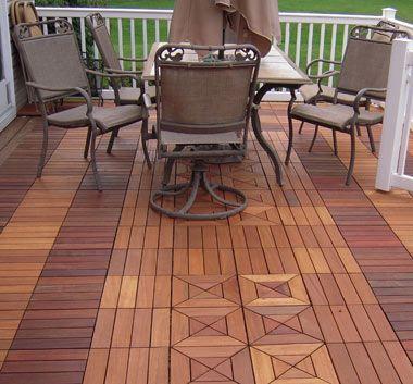 Resurface Your Weather Worn Deck With Interlocking Deck