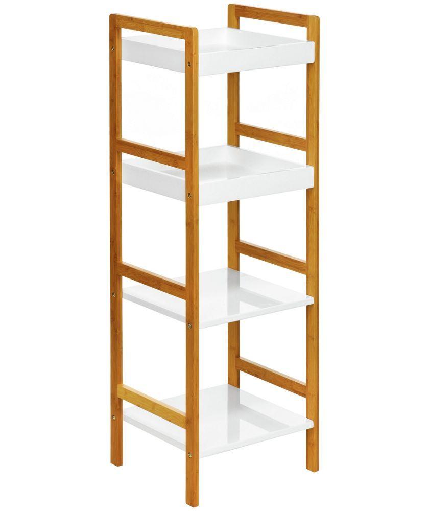Buy Premier Housewares 4 Tier White High Gloss Shelf Unit