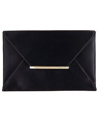 adb0daca2e22 BCBGMAXAZRIA Handbag, Harlow Satin Envelope Clutch - Handbags & Accessories  - Macy's comes in black or hot pink satin