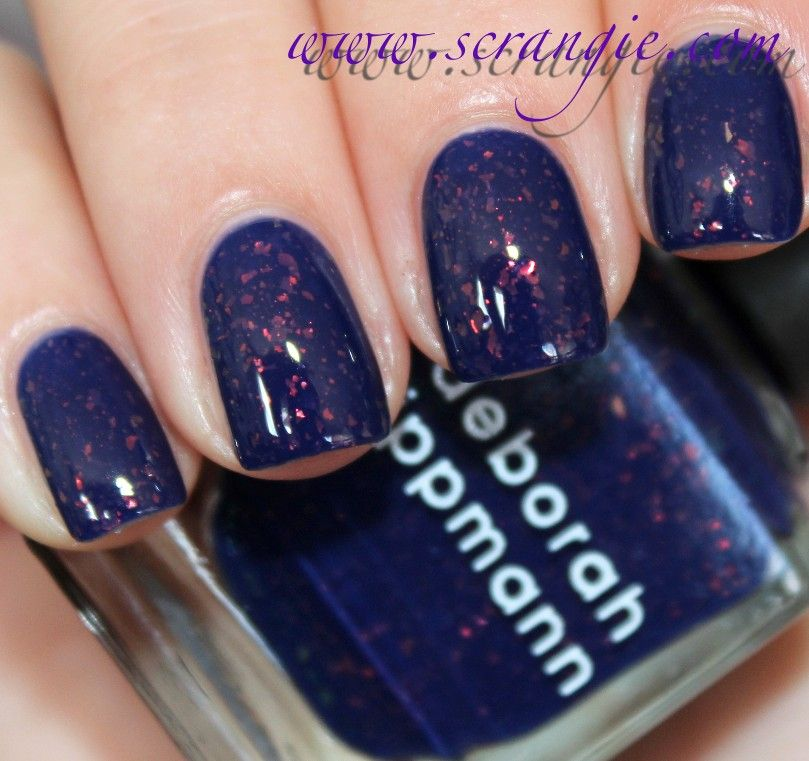 Scrangie: Deborah Lippmann 3D Holographic Nail Lacquer in Ray of Light Summer 2012 Swatches and Review