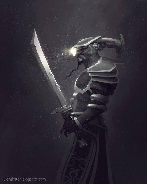 Master Yi (Fan Art) by Lionsketch Tatuagem lol, Fanart