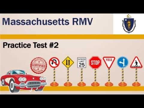Driving license test Massachusetts RMV Practice Test #2