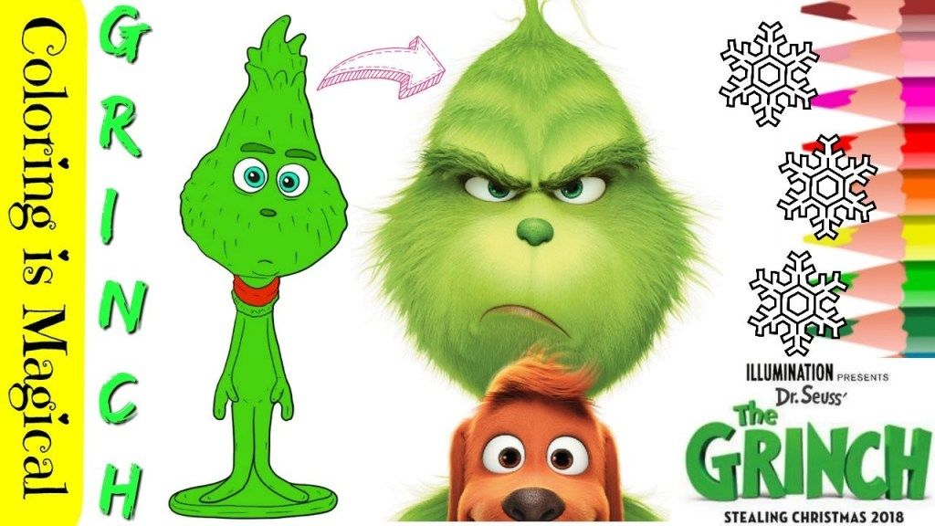 Little Grinch The Grinch Movie 2018 Coloring Page Grinch The Grinch Movie Little Grinch