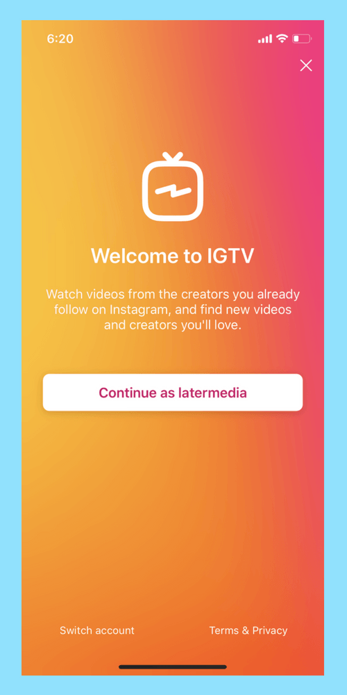 How To Upload Videos To Igtv In 4 Easy Steps Later Blog Videos Instagram Tips Pinterest Strategy