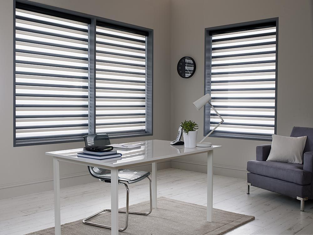 Superb Made To Measure Sheer Horizon Blinds For Your Office | Bolton Blinds