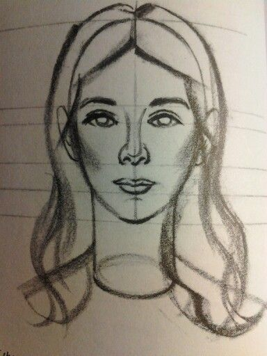 Como Dibujar Una Cara De Mujer How To Draw A Woman Face Rostro