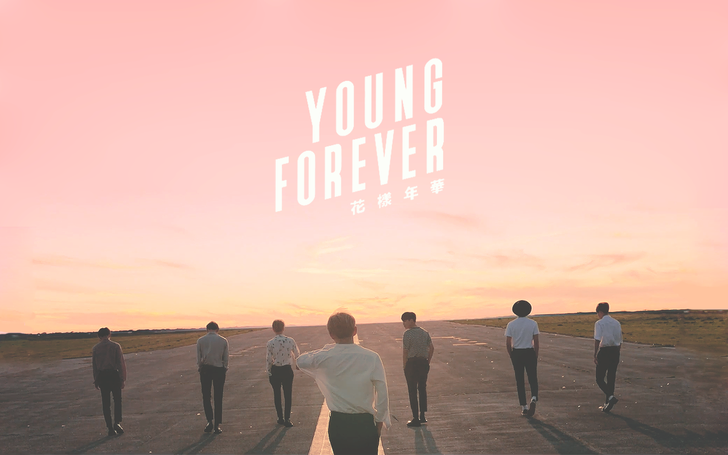young forever (pink) desktop wallpapers Wallpaper, BTS