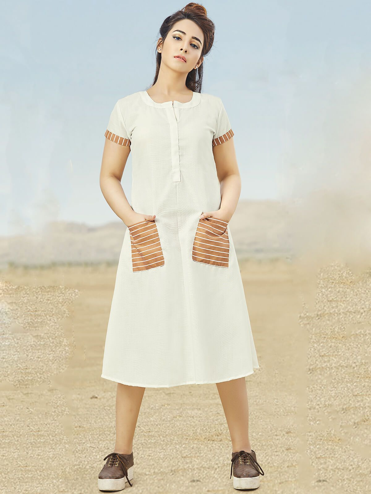 90e6342e85 Funky Cotton Kurti To Sizzle Your Summer Look | Blogs And Articles ...
