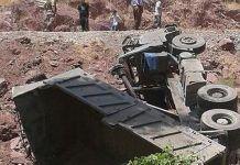 Isparta'da askeri araç devrildi, 3 asker yaralandı
