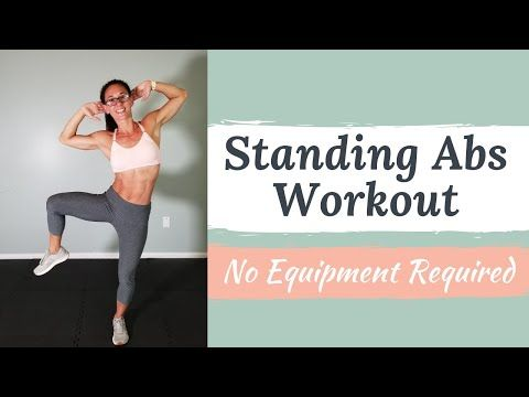 flat stomach standing ab workout no equipment required