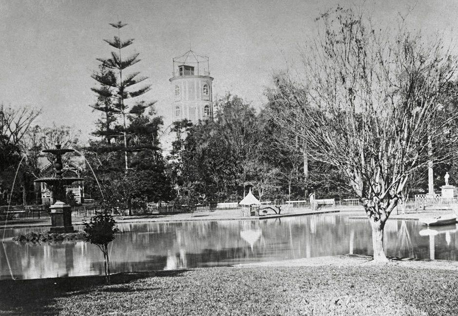 São Paulo City's Jardim Público (Public Gardens) which today is Jardim da Luz…
