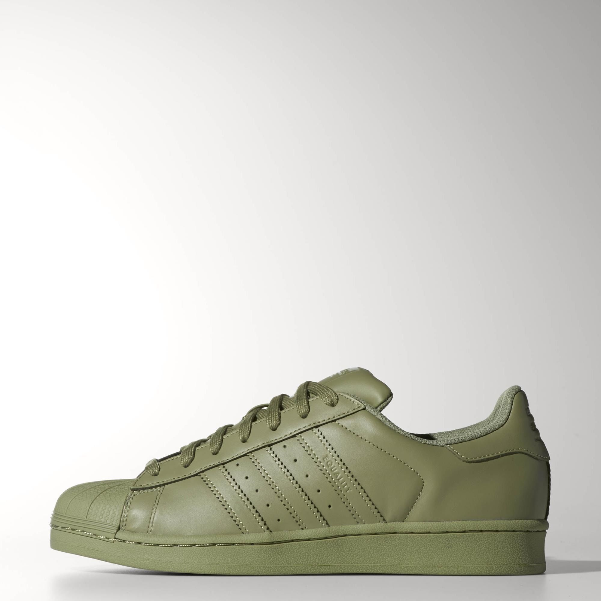 khaki adidas superstars
