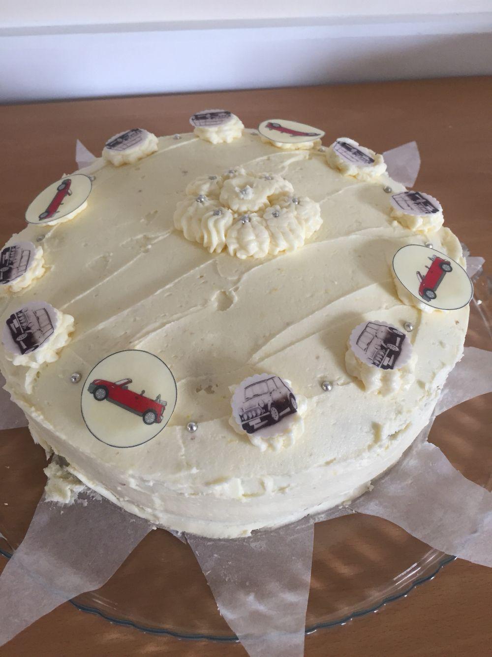 Homemade by myself ... Lemon Velvet Cake