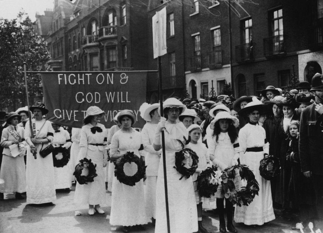 Suffragette British Women Women Suffragette [ 792 x 1100 Pixel ]