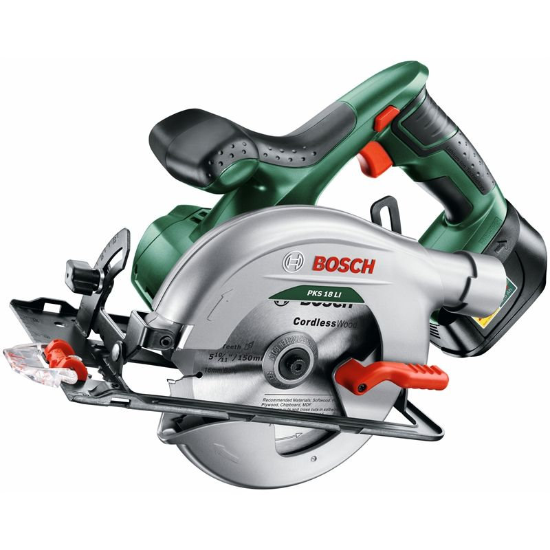 Bosch 18V Li-Ion Cordless 150mm Circular Saw - Skin Only