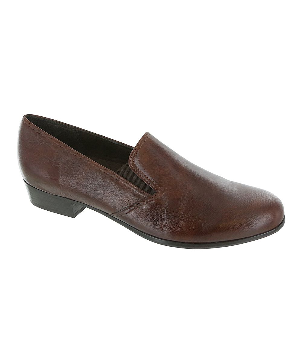 Brown Hailey Leather Loafer