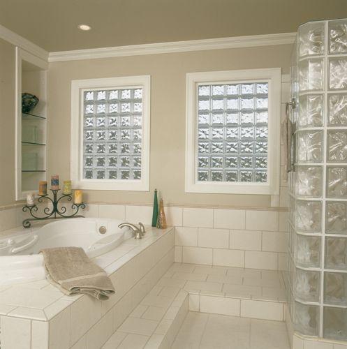 Seattle Glass Block Prefabricated Vinyl Frame Glass Block Exterior Windows Glass Block Window Glass Block Windows Bathroom Window Glass Glass Block Shower