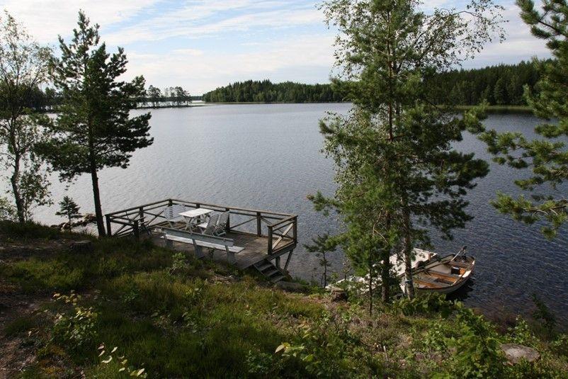 Urlaub Im Ferienhaus In Schweden Zu Mieten In Der See Und Meer Landschaft Varmland 801 1 Schweden Ferienhauser Ferienhaus Ferien