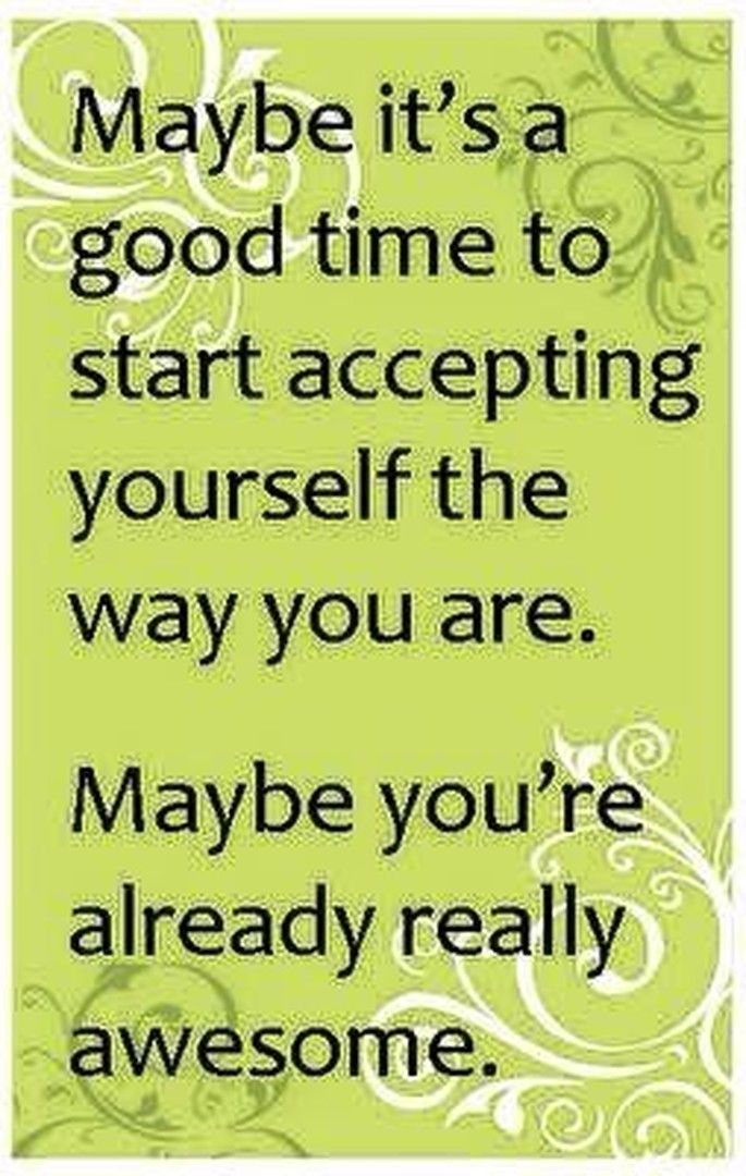Mean #Business - It's time to accept that you are awesome!
