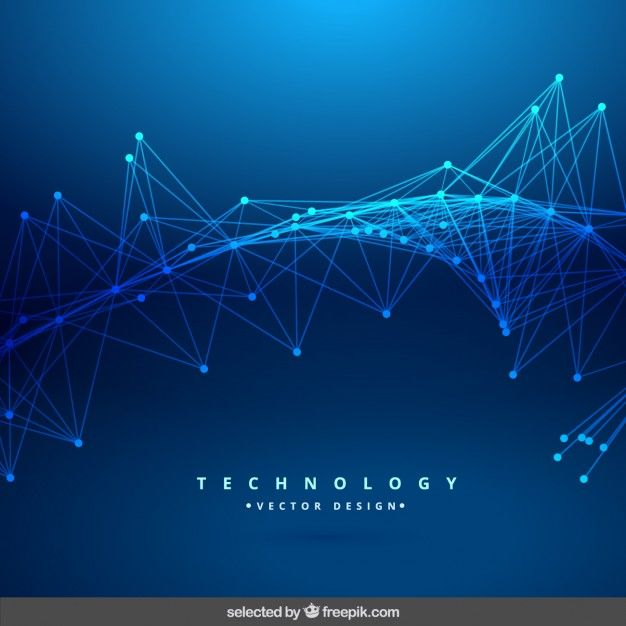 Download Blue Technology Abstract Background For Free