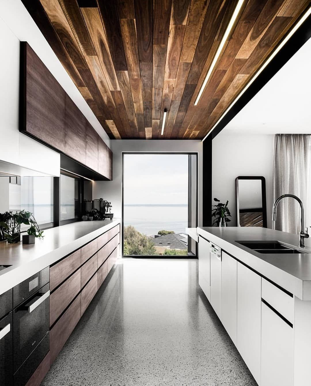 Archbuzzer Kitchen Thoughts The Two Angle House Is Designed By