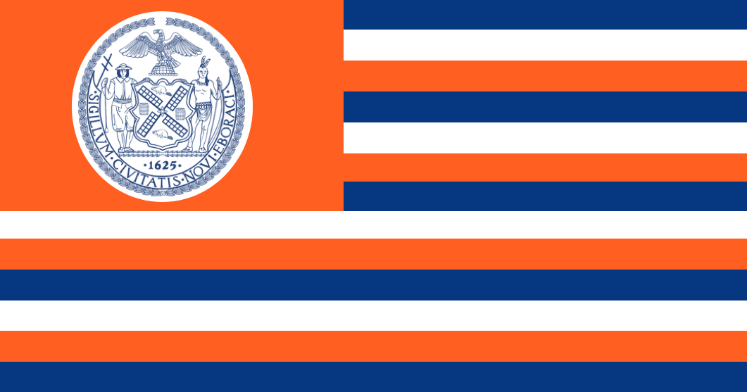 New York City In The Style Of The United States Flags Of The World City Flags City
