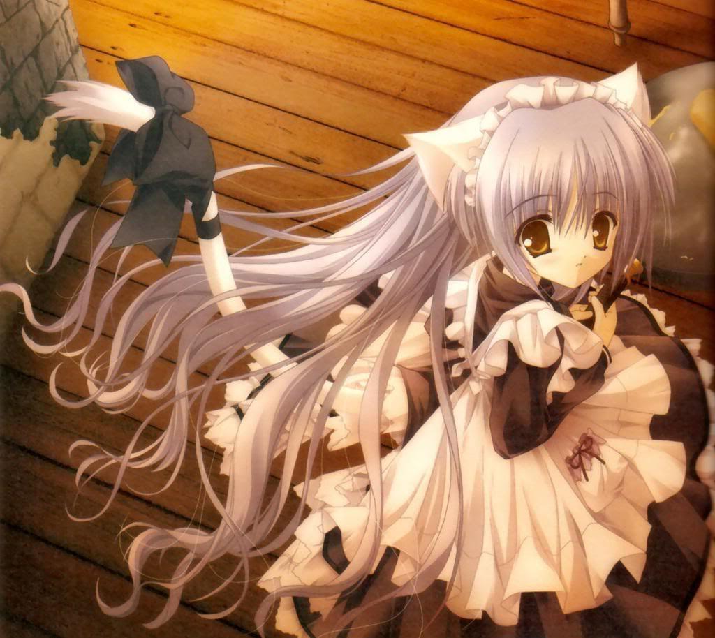 Cat maid anime manga magic Pinterest