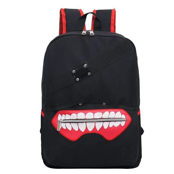 Tokyo Ghoul Mouth Zipper Anime Backpack  172c0752d2d66