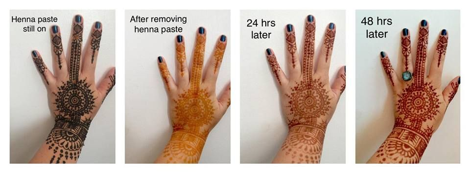 Henna Tattoo On Dark Skin: Henna Tattoo, How To Remove Henna