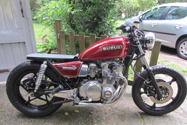 Free The Wheels Inspiration Suzuki Gs550 Suzuki Suzuki Cafe Racer Bobber Motorcycle