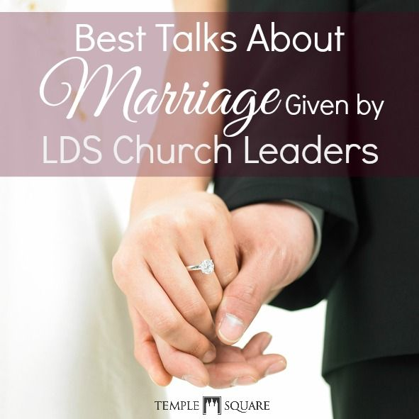 marriage lds talks