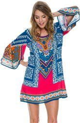 SWELL Ripe Printed Shift Dress http://www.swell.com/Womens-Boho-Gifts/SWELL-RIPE-PRINTED-SHIFT-DRESS?cs=MU