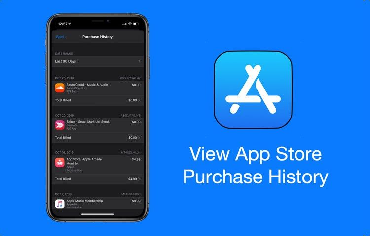 How To View App Store Purchase History With Price On