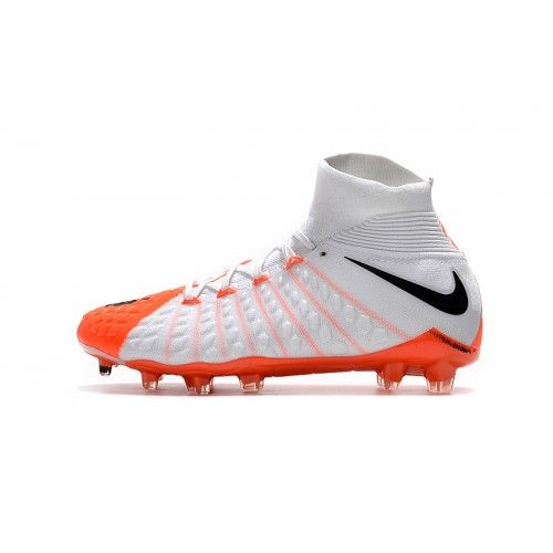 watch cdc37 019d1 Nike Hypervenom - Best 2017 Nike Hypervenom Phantom III DF FG Online White  Orange Black Football Shoes