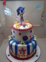 Sonic Birthday Cake Parties 5th
