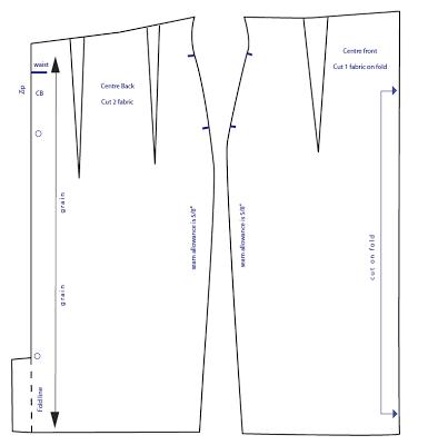 464b06cdc Resultado de imagen para patron falda lapiz cintura alta | PATRONES ...